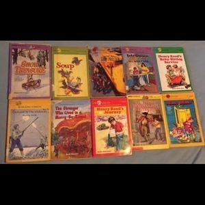 Ten vintage children's books 1940s-1990s